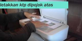 fotocopy ktp atas bawah