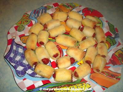 Margaret's Morsels   Little Corn Dogs