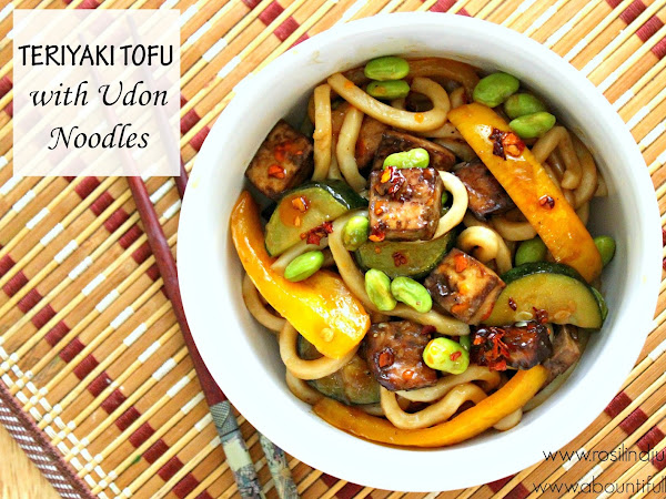 Teriyaki Tofu and Udon Noodles