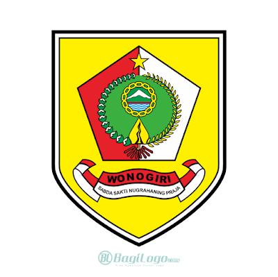 Kabupaten Wonogiri Logo Vector