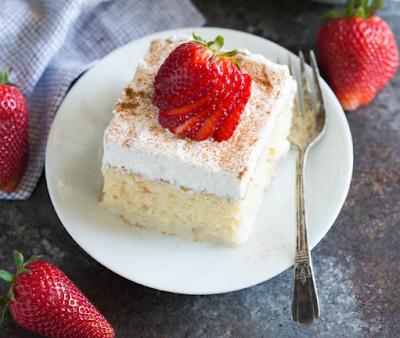 TRES LECHES CAKE #Mexicancake