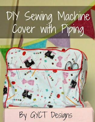 Making Your Own Easy Sewing Machine Cover