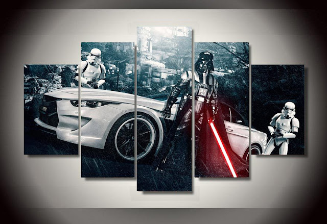 star wars wall art ideas, wall decor