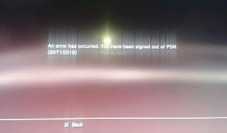 Solusi PS3 Tidak Bisa Konek/Connect Saat Bermain Game Online