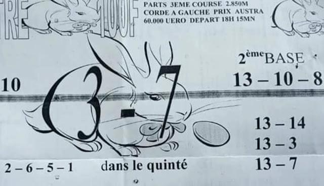 quinté+ Pronostic pmu vendredi Paris-Turf TV-100 % 01/10/2021