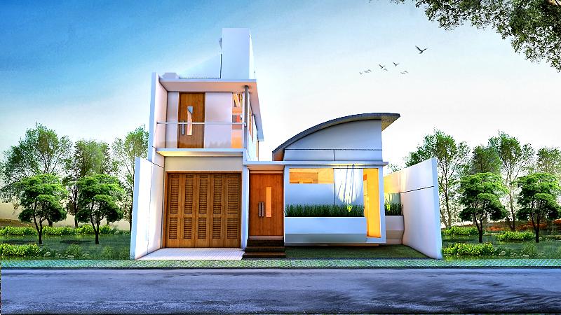 Desain Rumah NTK House Karya Eko Cahyo Saputro