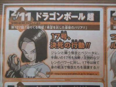 Dragon Ball Super episode 127 shonen jump preview + leaked image !!
