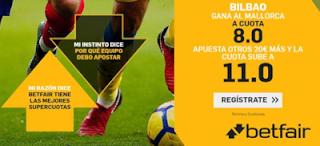betfair Supercuota Especial Athletic gana a Mallorca 13 septiembre 2019