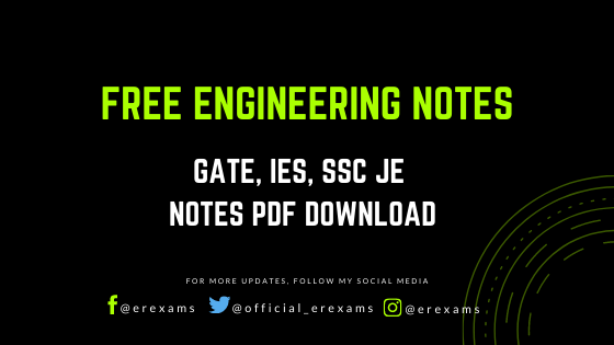 Free Engineering Pdf Notes – Electrical, Mechanical, Civil Engineering - ErExams - Engineering Exams Guidance RSS Feed  IMAGES, GIF, ANIMATED GIF, WALLPAPER, STICKER FOR WHATSAPP & FACEBOOK