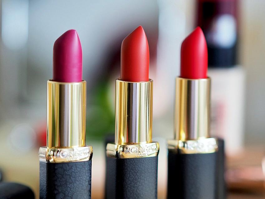 L'Oreal Matte Addiction Lipsticks