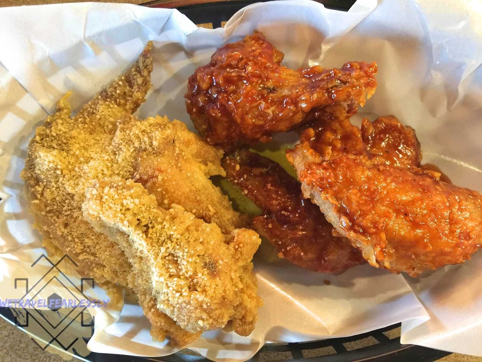 6PCS of Most Wanted Wings - Hickory Barbecue and Garlic Parmesan mix (PHP159) - Fry Shack in San Miguel, Manila - WTF Review