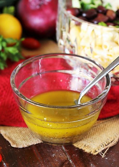 Greek Macaroni Salad Dressing Image