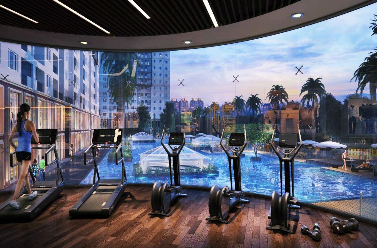 Phòng tập Gym dự án Videc Nguyễn Xiển