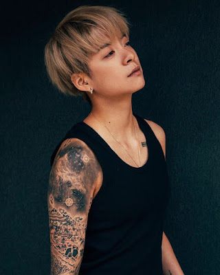 Amber 'f(x)' artis Korea seksi pakai Tatto dan rambut pendek