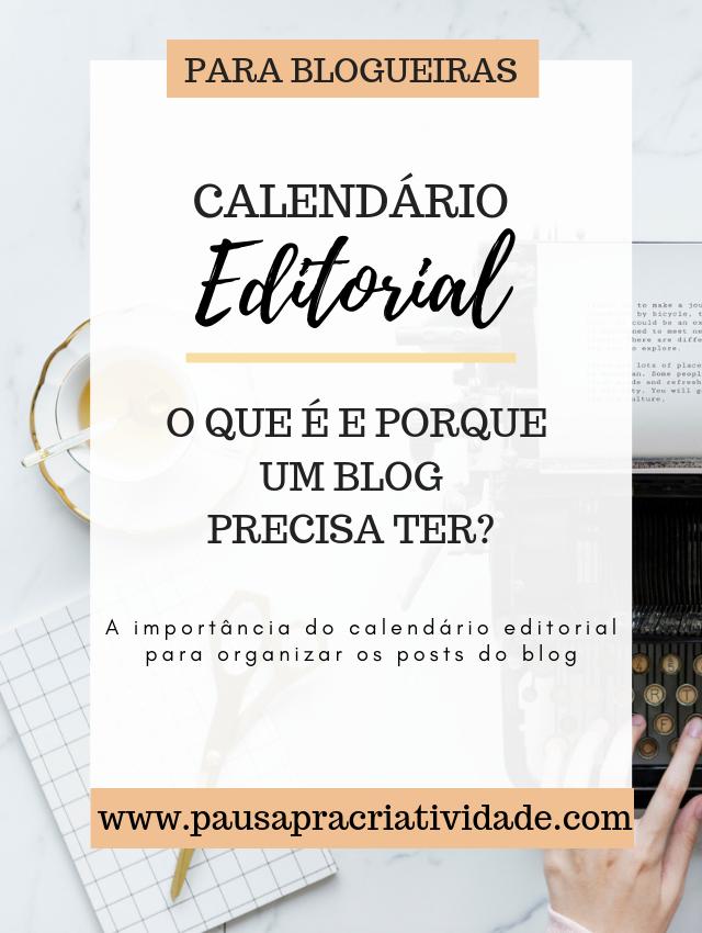 Importância do Calendário editorial para blog