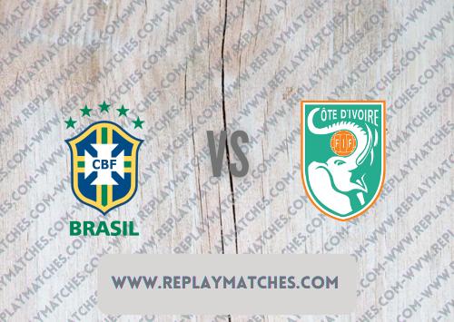 Brazil U23 vs Côte d'Ivoire U23 -Highlights 25 July 2021