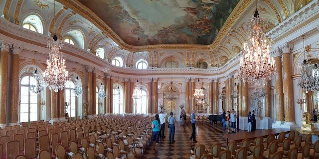 salas Castillo Real Varsovia