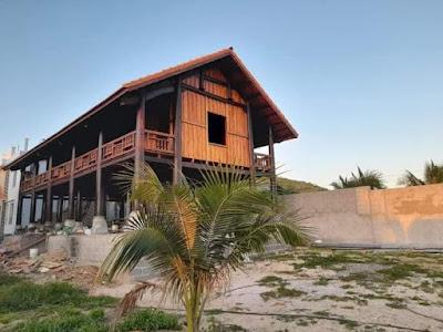 Thi công nhà gỗ tại thị trấn gia Ray huyện Xuân Lộc