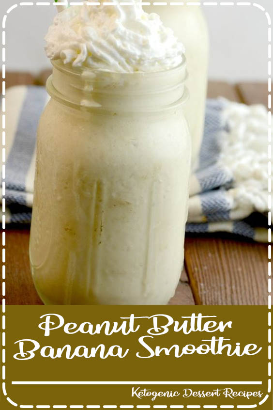 Try this delicious peanut butter banana smoothie recipe Peanut Butter Banana Smoothie