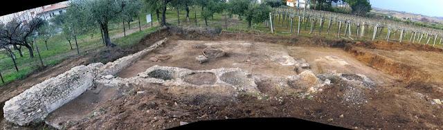 New archaeological finds near the Roman villa in Contrada, San Pietro di Tollo