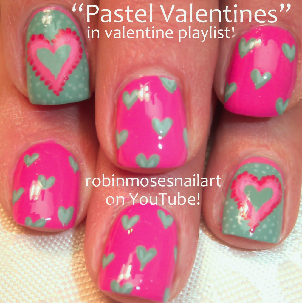 Nail Art By Robin Moses February 2013