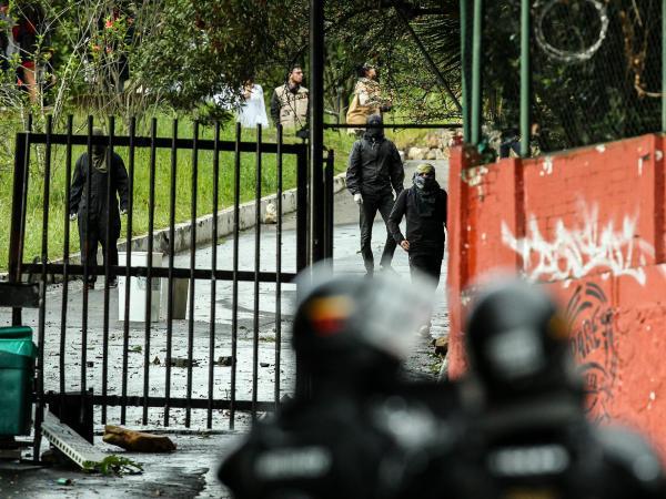 Presunto hecho de corrupción genera disturbios en la Universidad Distrital