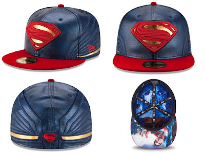 Batman v Superman: Dawn of Justice Character Armor 59Fifty Fitted Hat Collection by New Era - Superman