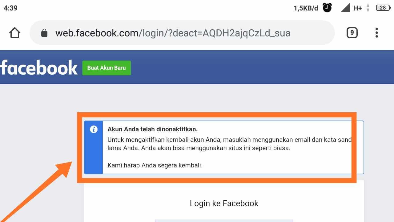 Cara hapus akun fb Pakai KTP