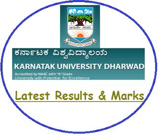 Karnatak University Results May June 2020