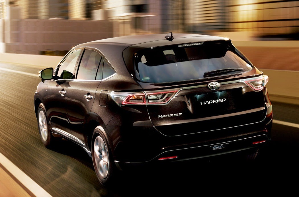 2015 Toyota Harrier Mid Size Crossover Suv Car Reviews