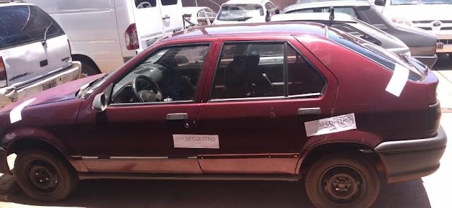 POSADAS -  Verificadores de la Policía secuestraron un automóvil adulterado