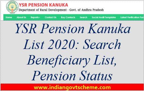YSR+Pension+Kanuka+Yojana