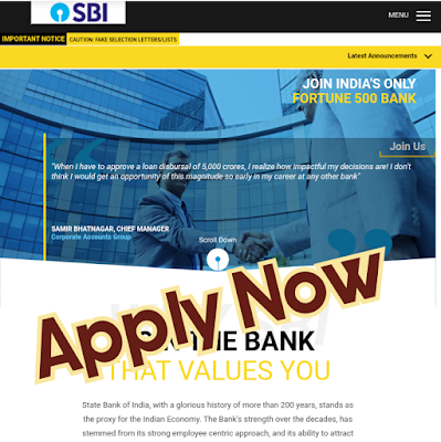 SBI Clerk Junior Associate Recruitment 2020 Notification Out Apply now