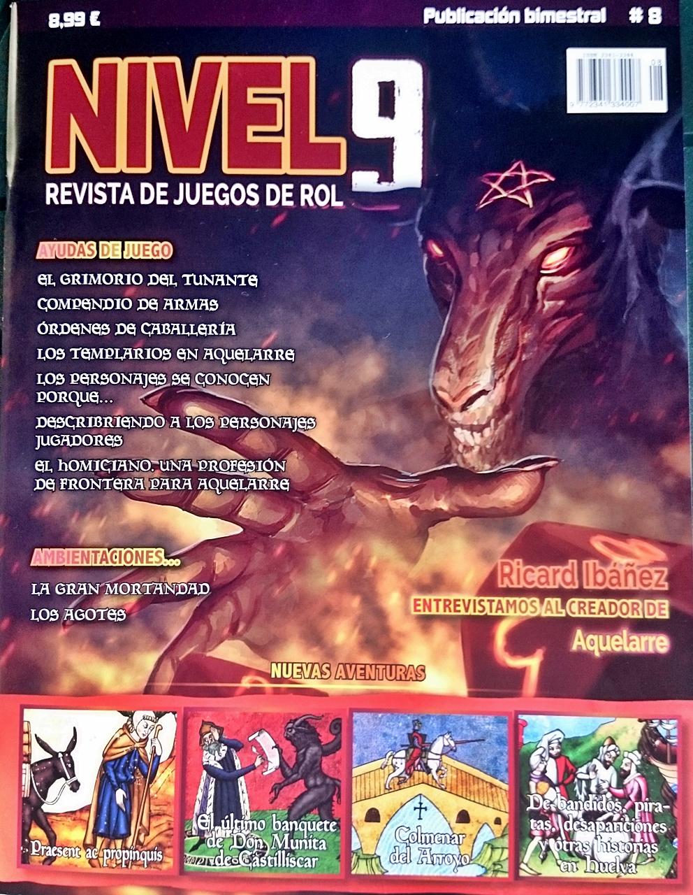 Revista Nivel 9  Número 8 Especial Aquelarre ~ albinusrol