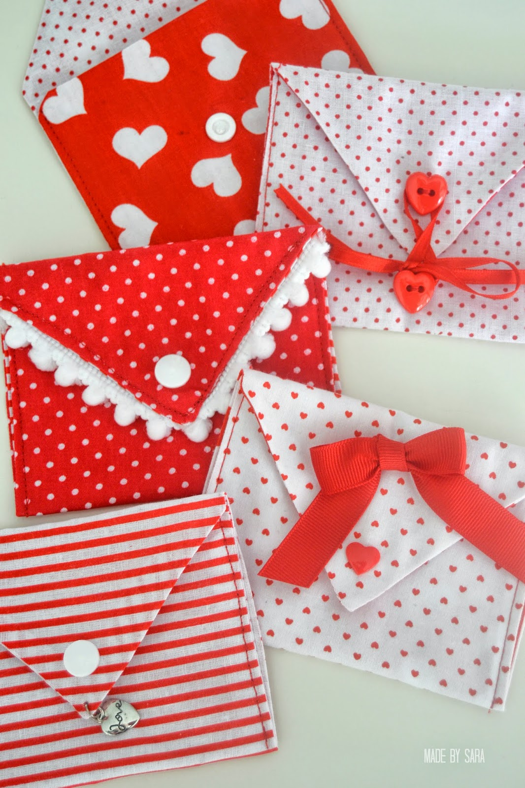 10 Adorable Easy Sew Valentines Projects