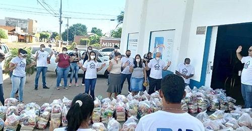 Ministério reúne 800 igrejas e distribui mais de 4 toneladas de alimentos no Mato Grosso
