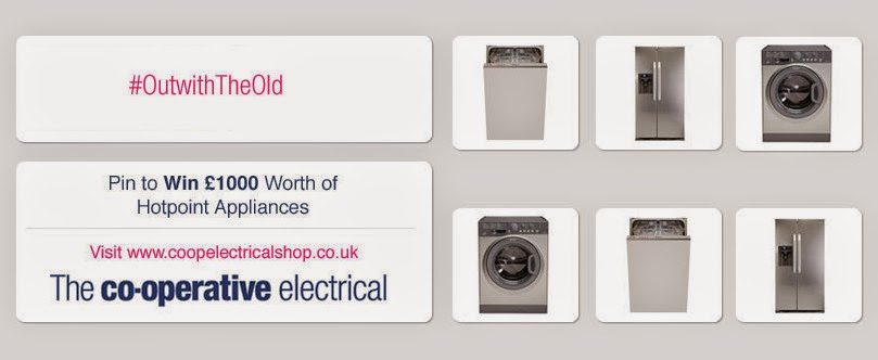 Co-operative Electrical Pin It To Win It £1000 giveaway