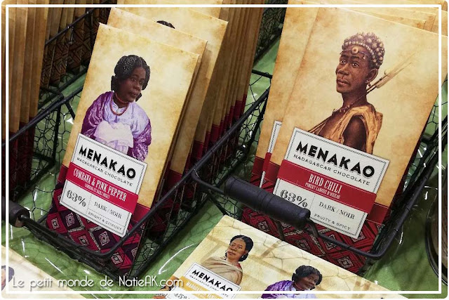 Menakao : tablette de chocolat de Colombie