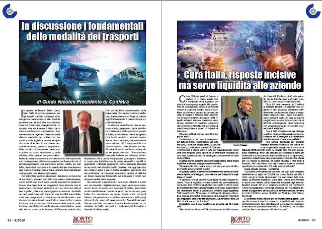 APRILE 2020 PAG. 26 - In discussione i fondamentali delle modalità dei trasporti