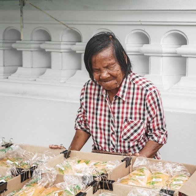 Blind 71-Year-Old Vendor