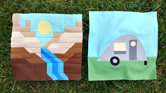 Destination: Quilt Along quilt blocks