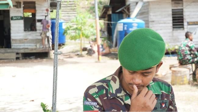 Cerita Rindu Prajurit TNI Di Perbatasan Hingga Ditinggal Pergi Ayah Tercinta Selamanya