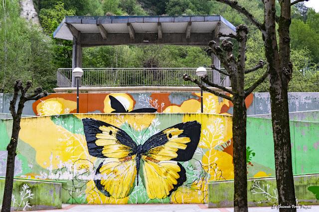 Mural en Parque Iturrigorri - Bilbao, por El Guisante Verde Project