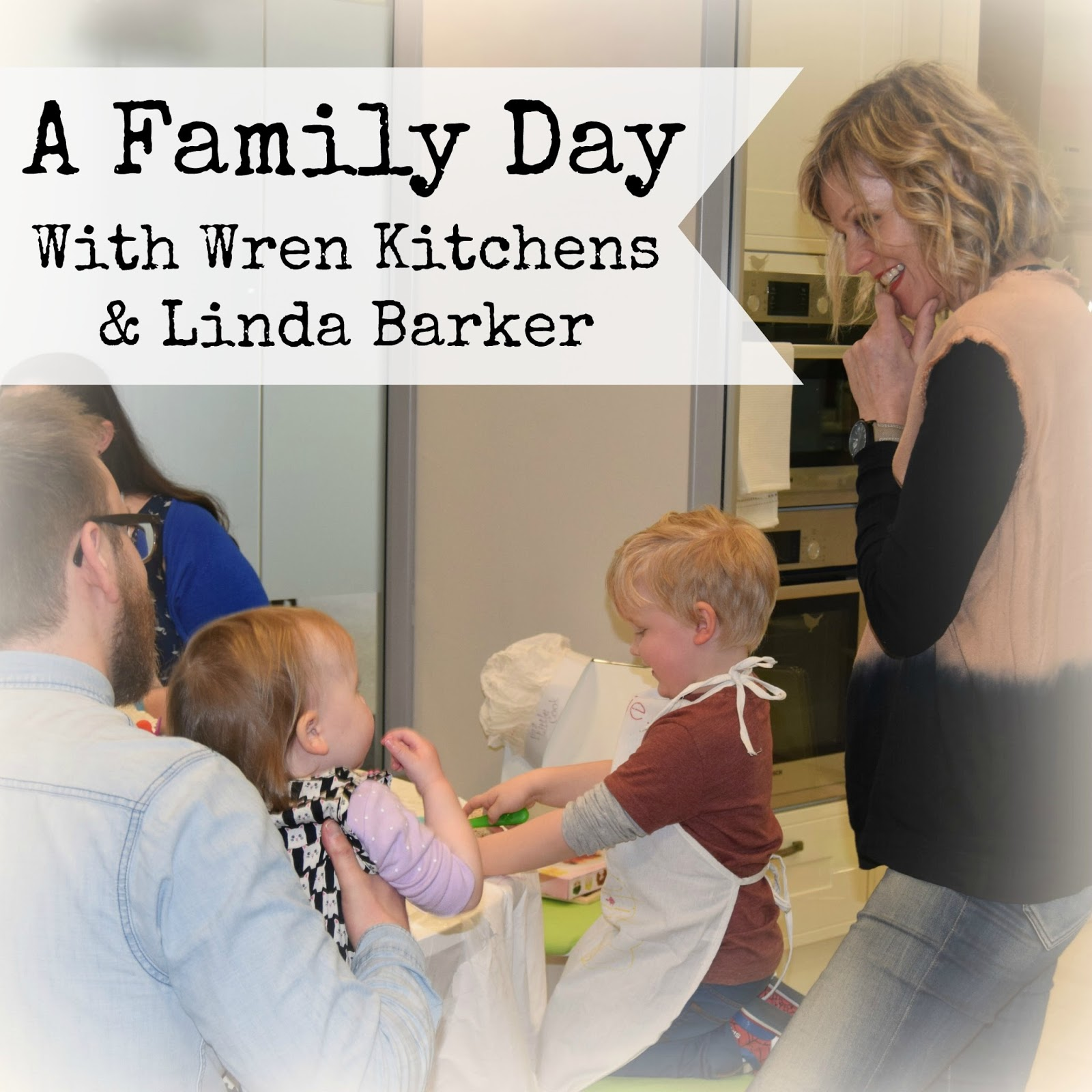 Wafflemama Our Family Day With Wren Kitchens Linda Barker
