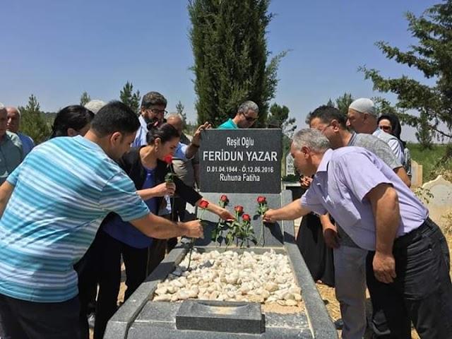 Feridun Yazar mezarı başında anıldı