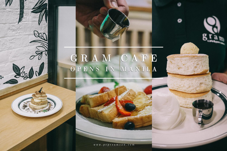 Osaka Pancake Chain Gram Café Opens in Manila