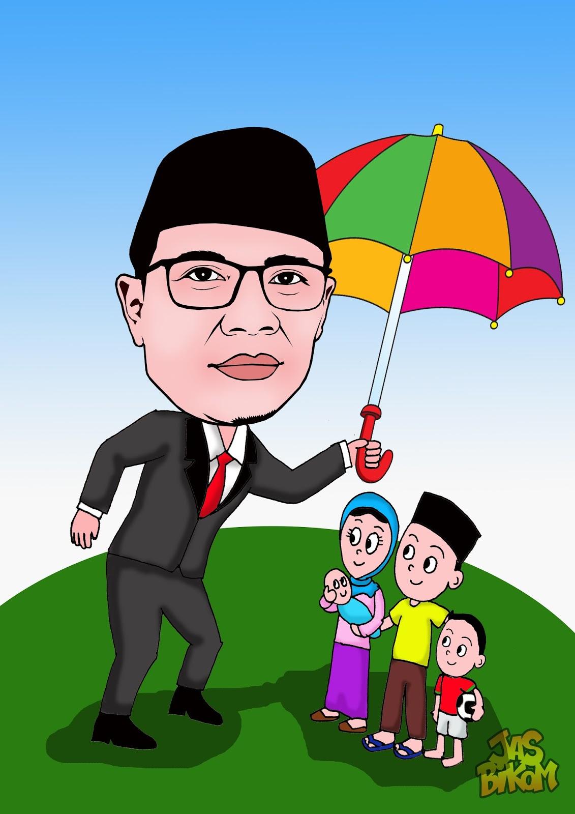 Karikatur Perseorangan