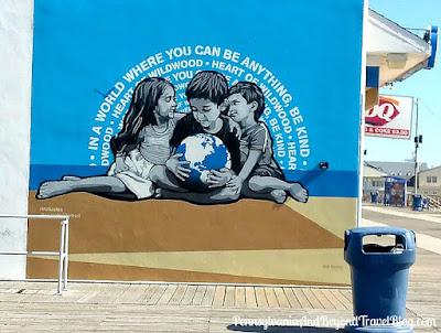 Inclusion - Heart of Wildwood Wall Mural by Artist Joe Lurato