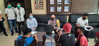 Polres Pangkep Tetapkan Dua Tersangka Kasus Dugaan Korupsi Bantuan Bencana