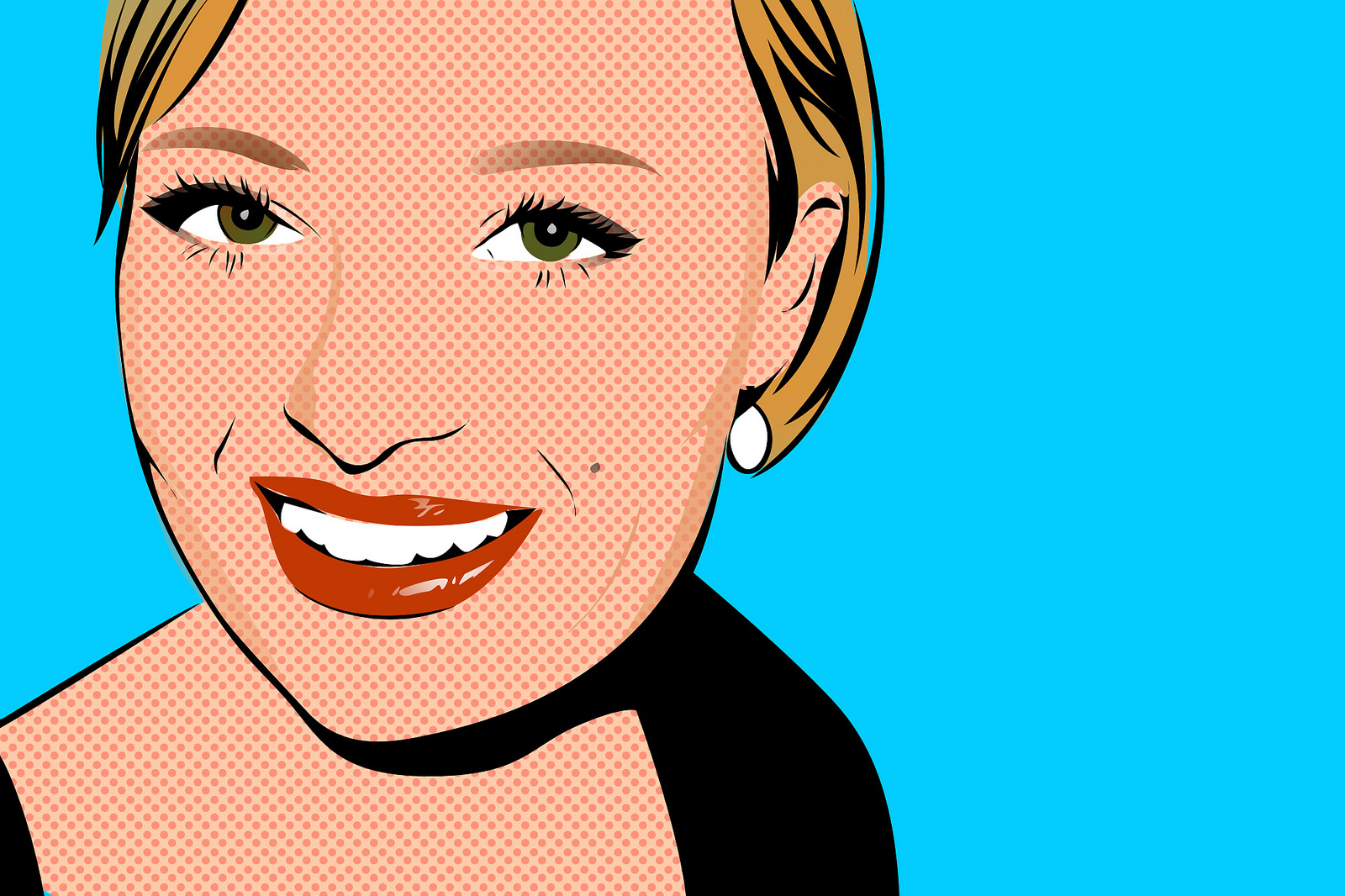 Caricature From Photo Online Make A Cartoon Of Yourself Girl Cartoon With Pop Art Style